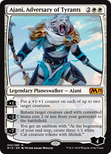 Ajani, Adversary of Tyrants фото цена описание