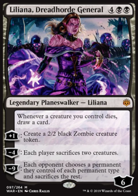 Liliana, Dreadhorde General фото цена описание